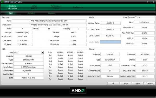 процессоры amd программы по виндовс