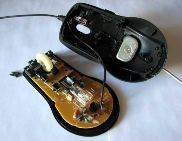 Ремонт лазерной мышки своими руками