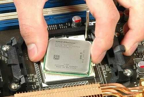 После чистки компьютера сильно греется процессор
