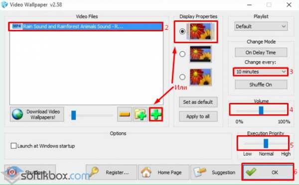 Как сделать видео обои самому видео
