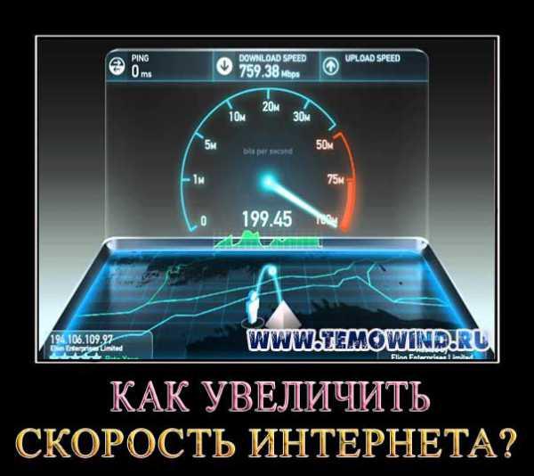 Своими руками увеличить скорость интернета 47