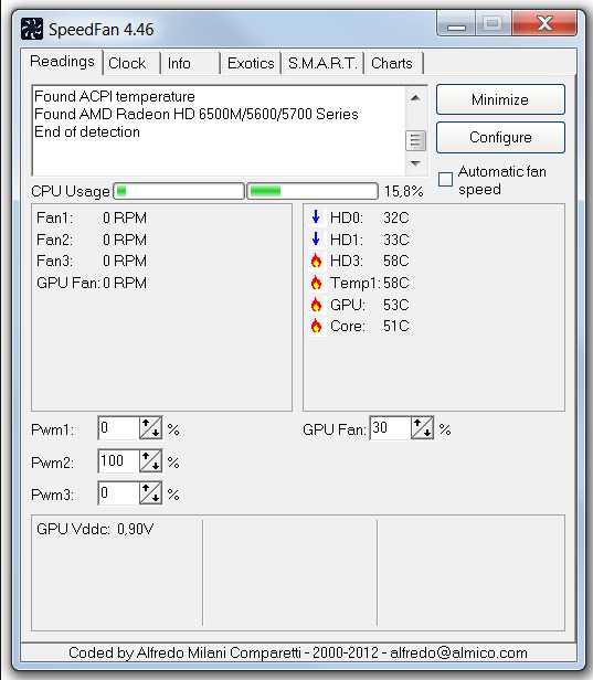 Скачать программу для слежения за температурой компьютера