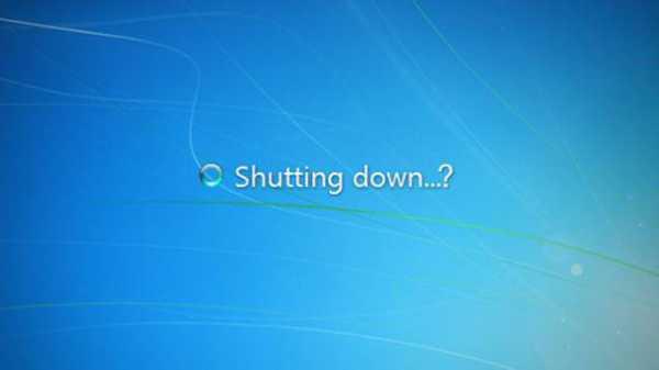 не выключается питание после завершения работы windows 8.1